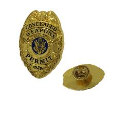 Regalos de recuerdo Venta Barata Custom Metal Pin Badge