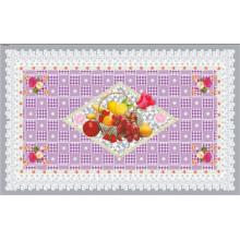 90*145cm Hot Popular PVC Printed Transparent Tablecloth of Independent Design (full color)
