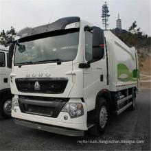 Sinotruk HOWO 4X2 New Compactor Garbage Truck