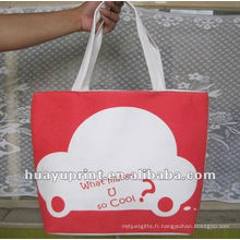 Toile Shopping Canvas Tote Bag