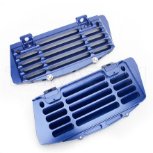 Color Anodized Motorcycle Aluminum Radiator Guard Cover Grill Protector