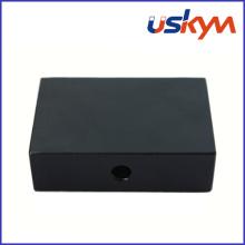 Black Epoxy Coating Block NdFeB Magnets avec trou (F-008)