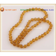 Soccer Glass Bead for Jewelry and Crafts