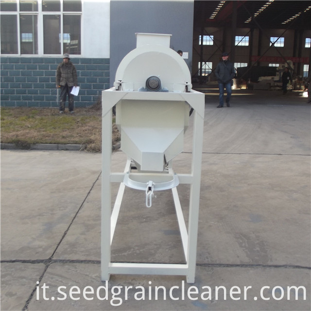 bean polishing machine 12