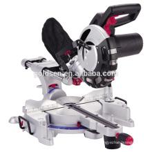 "255mm 10"" 2000W Wood Cutting Electric Single Bevel Slide Mitre Saw Big Cutting 340mm with Twin Laser GW8014H"