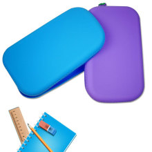 Bolsa para caneta de silicone fofa personalizada