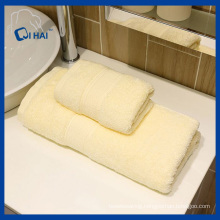 100% Solid Yarn Dyed Bath Towel (QHD887112)