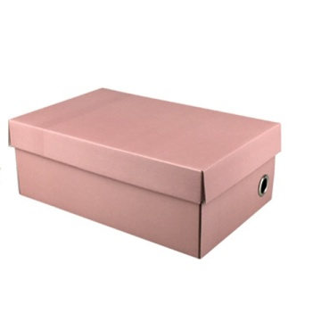 New product CMYK color printed cardboard shoe box