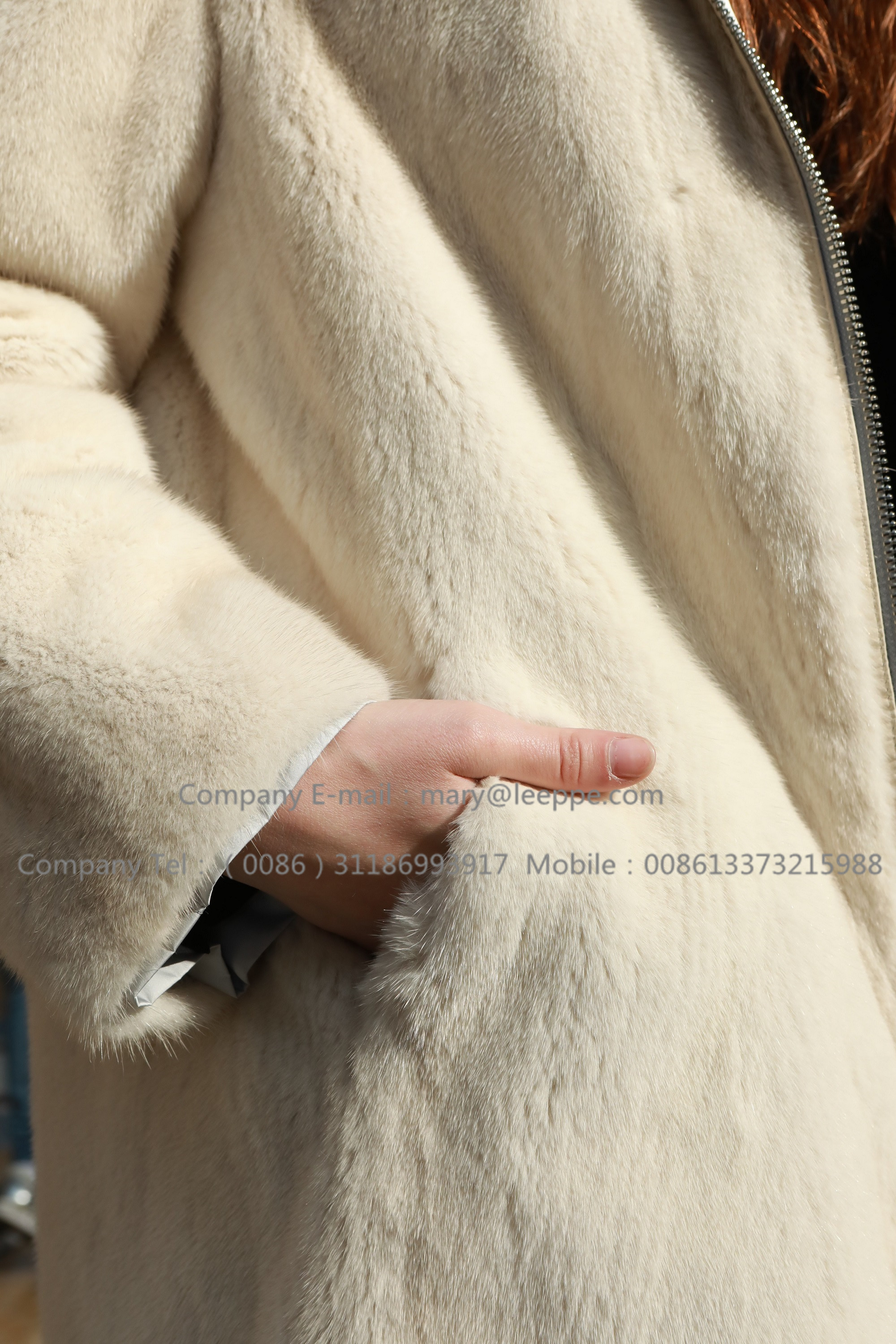 Reversible Parka Mink Fur Coat(4)