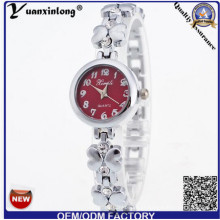 Yxl-410 Nova Moda Feminina Quartz Alloy Pulseira Relógio De Quartzo Elegante Relógio De Pulso Das Mulheres