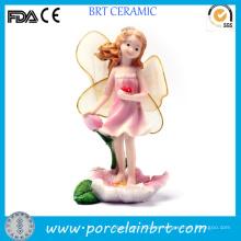 Decoración de jardín de resina llamativa Flying Fairy