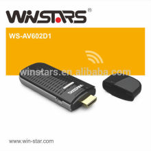 Wireless to Display Receivers Support full HD 1080P video and audio,multi-media device