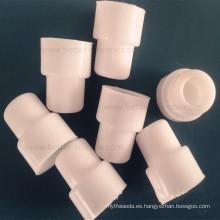 Tapa del extremo del tubo de goma moldeada del PVC para el aparato del laboratorio