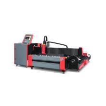 Станок для волоконной лазерной резки с открытой станиной для пластин и труб