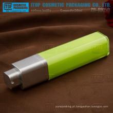 Bomba de ZB-RK50 50ml forma quadrada giratória loção 50ml high-end cosméticos verde frasco mal ventilado