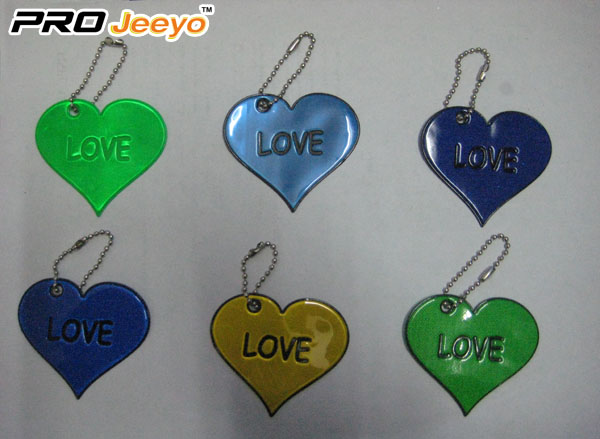 OEM Love Reflective Pendant For Valentine Gift RV-201B 1