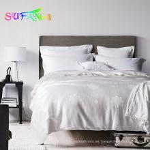 Edredón de colcha de color sólido de seda 100% seda / mora presentado para uso de verano