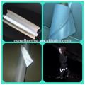 tecido de refletor de alta visibilidade prata colete de segurança