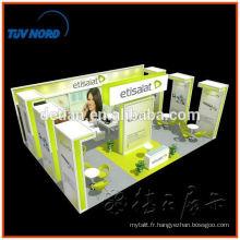 Rapide et facile à assembler le stand de salon d'aluminium de Changhaï
