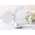 16 delige Decal porselein diner Set