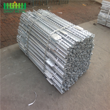 녹색 페인트 T POST GALVANIZED STEEL POST