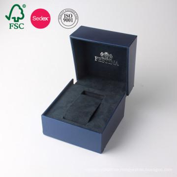 Nach Maß in China PU Leder Papier Geschenk Uhr Verpackung Box