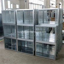 Smoke+Fire+Damper+Frame+Roll+Forming+Machine