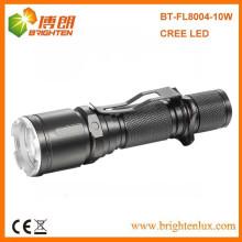 Fabrik Versorgung 1 * 18650 Zelle Batterie betrieben Aluminium Cree xml u2 High Beam 6 Modus 3.7v Wiederaufladbare LED Taschenlampe mit Strobe