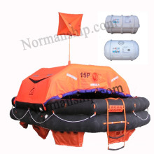 15person  Solas approved throwing inflatable life raft ( Pack A )