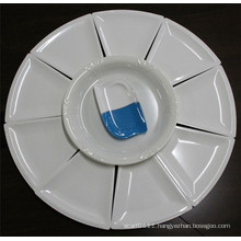 White Imitation Ceramic Melamine Dinnerware Set (CP-048)