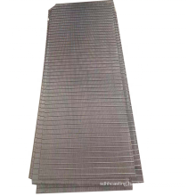Manufacturer Customized Wedge Wire Screen Stainless Steel 304 Flat Screen