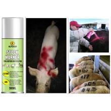 Vernis pour aérosol de peinture à marquage de porc