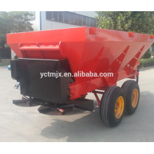 Hot sale Tractor trailed hydraulic manure spreader organic fertilizer spreader