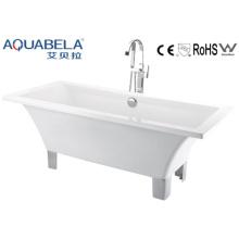Acryl Klassische Indoor-Badewanne mit 4 Metall-Beinen (JL620)