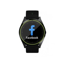 Translucent touch screen smart watches