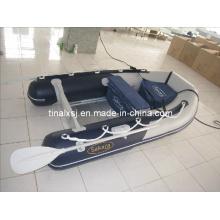 Barco inflável de PVC com piso de alumínio barato para fábrica na China