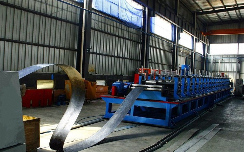 Two Waves Highway Guardrail Roll Forming Machines