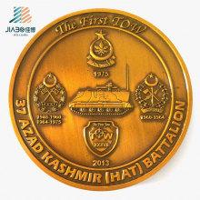 O desafio da promoção do costume 70mm comemora a moeda militar para o presente da lembrança