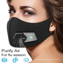 Máscara protetora eletrônica do respirador eletrônico esperto do filtro KN95
