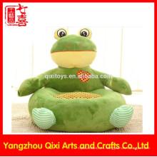 La mejor calidad rana rellena embroma la silla animal suave del sofá de la felpa del sofá para los niños
