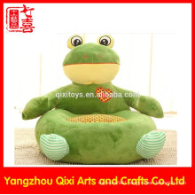 Best quality stuffed frog kids sofa chair soft plush animal sofa chair for kids