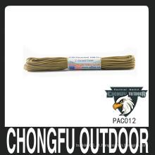 Nylon militar parachutr cabo nanjing fornecedor de amostra grátis