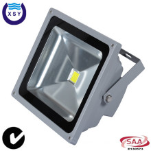 CE SAA aprobado 50w alto luminoso al aire libre de 50 vatios 12 voltios llevó la luz de inundación