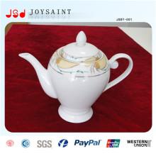 Pot de thé de porcelaine de nouveau style Costomized pour l'usage à la maison