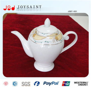 Costomized New Style Porcelain Tea Pot for Home Use