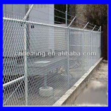 galvanized safety chain link fence