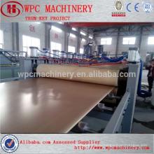 Циндао HEGU Профессиональная фасовочная машина для изготовления досок WPC / машина для производства мебельной доски WPC