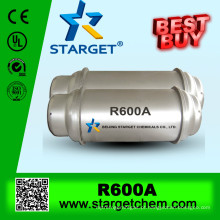 Isobutano r600a na venda quente com pureza elevada 99.9%