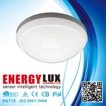 ES-ML03A 60W E27 Luz de sensor de teto Sensor de microondas Luz interior