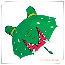 Paraguas en forma de dibujos animados de 17 pulgadas para niños
